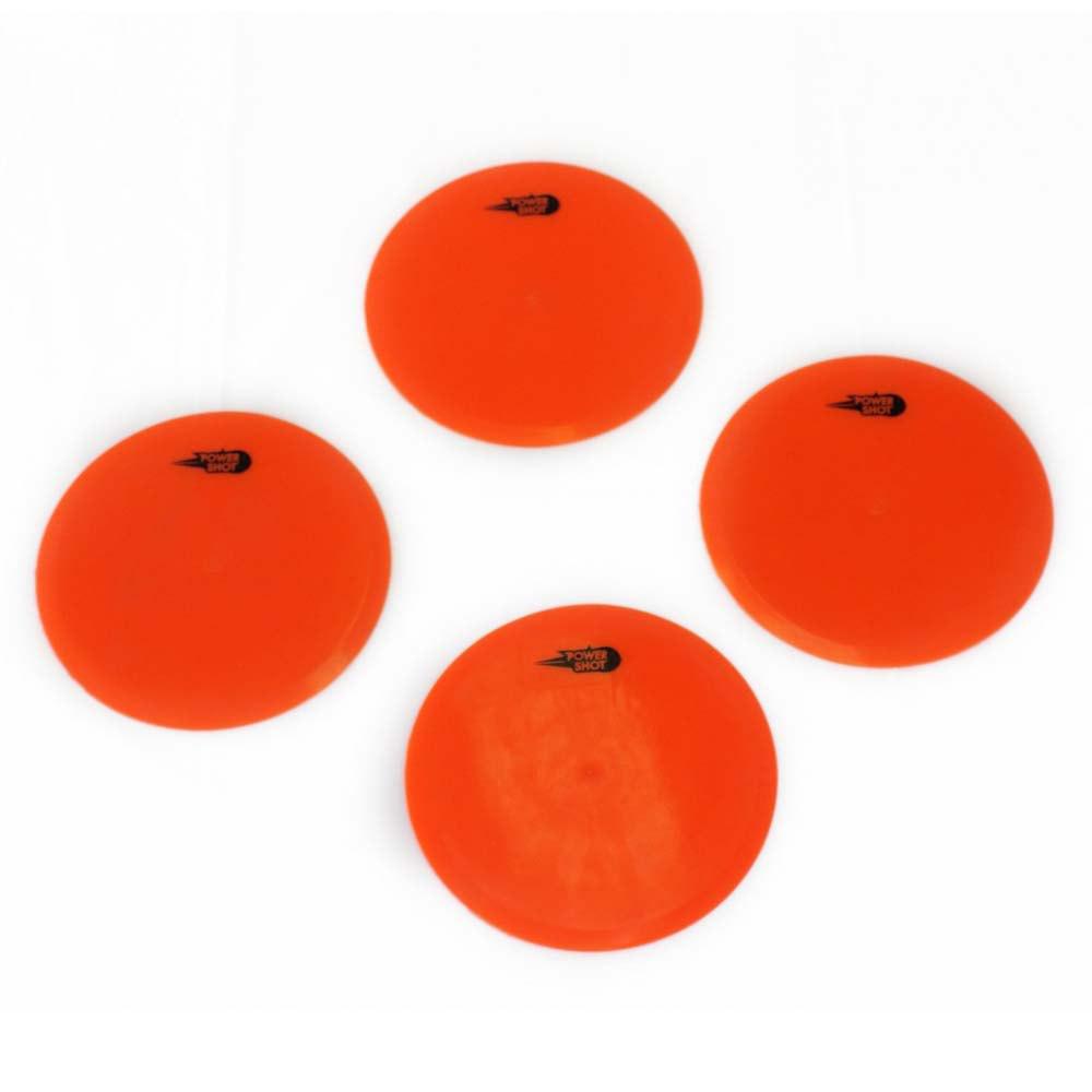 Powershot Marqueurs De Sol Ronds 4 Unités 30 cm Orange