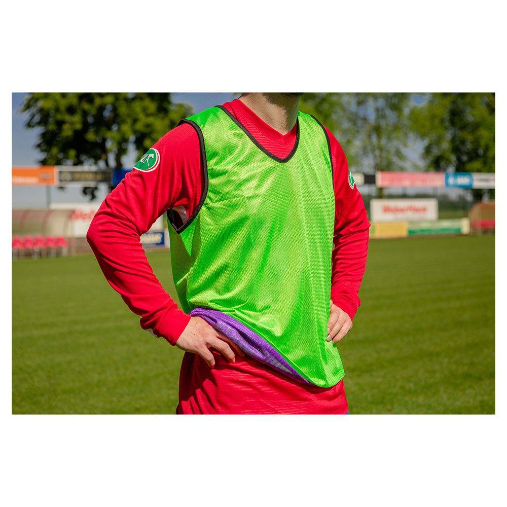 Powershot Chasuble Training Réversible Junior One Size Purple / Green