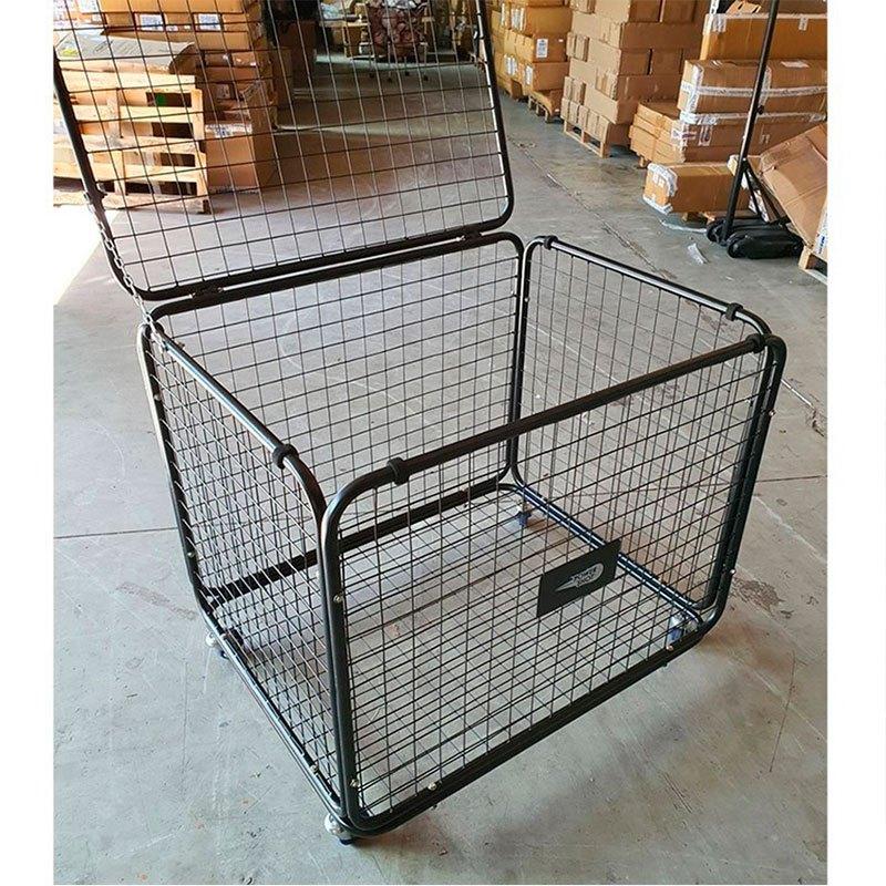 Powershot Wheeled Ball Storage Cage 96 x 77 x 79 cm Black