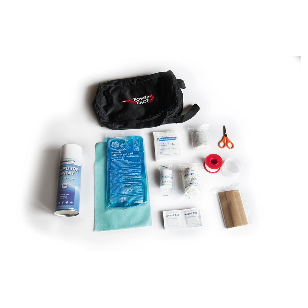 Powershot First Aid Kit With Bag One Size Black