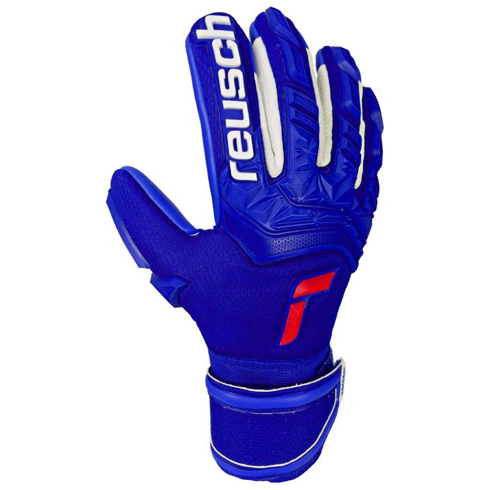 Reusch Attrakt Freegel Silver Junior 5 Deep Blue