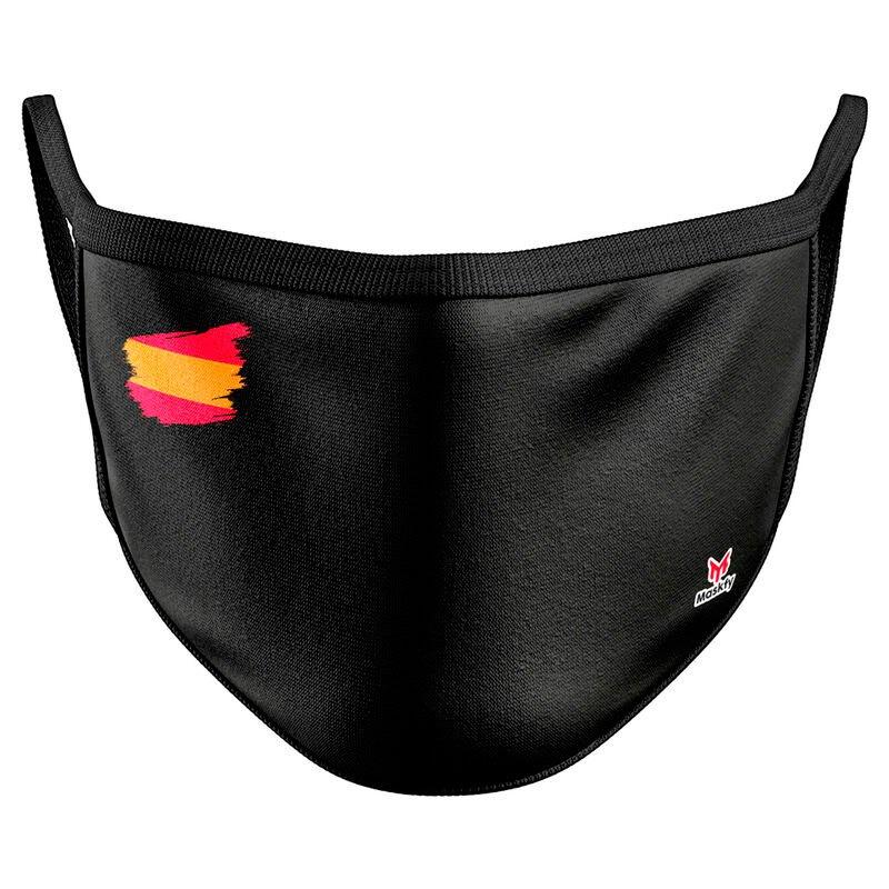 Maskfy Masque Réutilisable One Size Black / Spain
