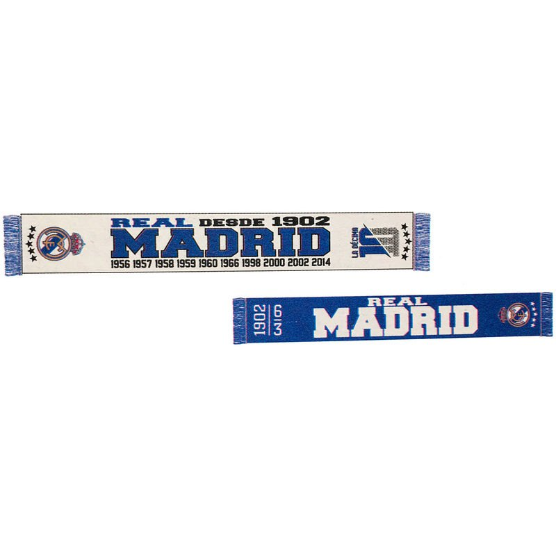 Real Madrid Since 1902 One Size White / Blue