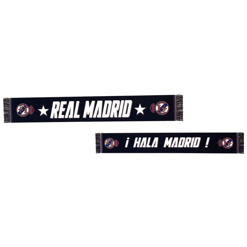 Real Madrid ¡hala Madrid! One Size Black / White