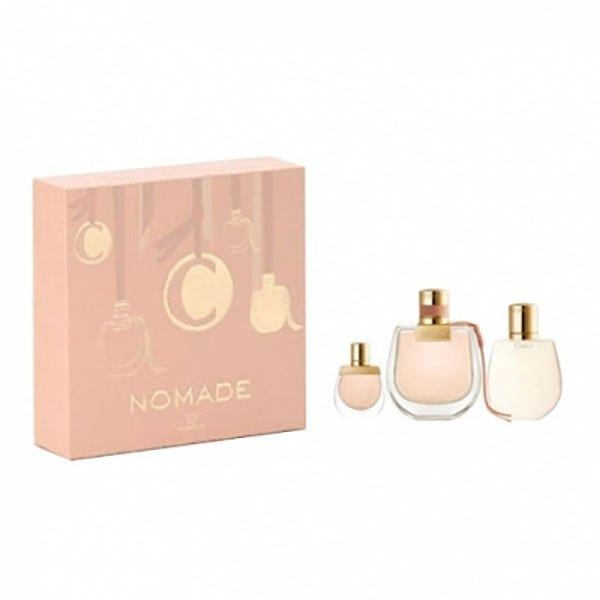 Chloe Nomade Eau De Parfum 75ml+body Lotion+miniature 5ml One Size