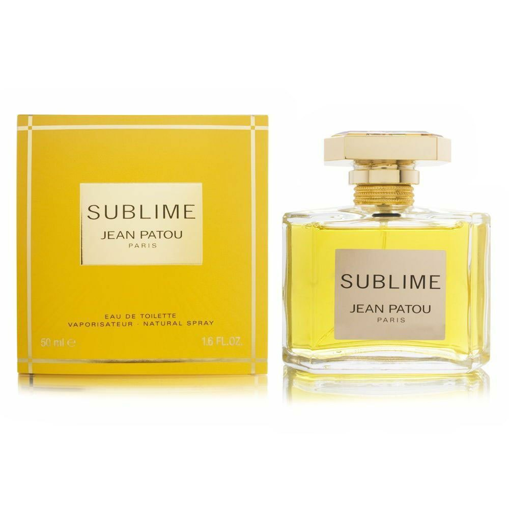 Jean Patou Sublime Eau De Toilette Vapo 50ml One Size