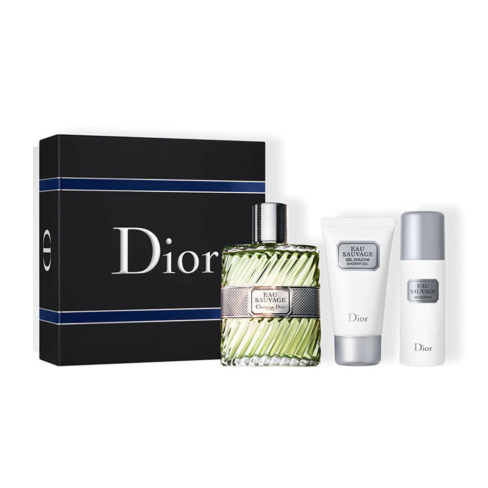 Dior Eau Sauvage Eau De Toilette 100ml + Deodorant Spray 50ml + Shower Gel 50ml One Size