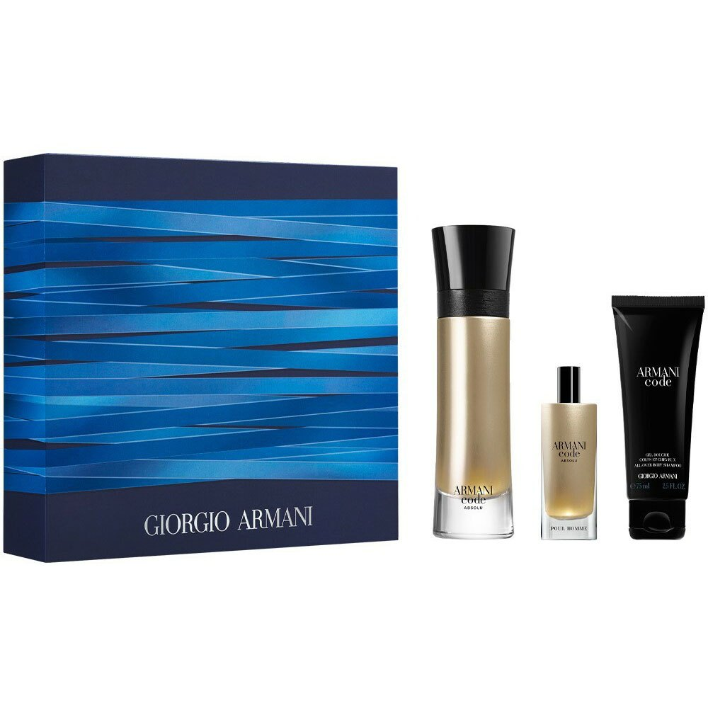 Giorgio Armani Code Absolu Homme Eau Parfum 110ml+ Eau Parfum 15ml+ Shower Gel 75ml One Size