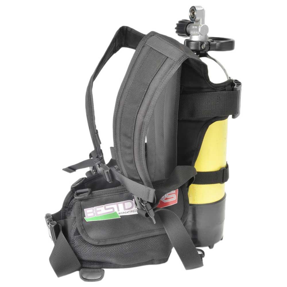 Best Divers Tank Backpack With Pocket Bcd Band 15 Liters Gurte, Schellen, Halterungen Tank Backpack With Pocket Bcd Band