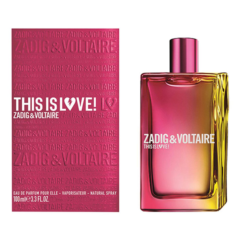 Zadig & Voltaire This Is Love 100ml Vapo One Size Pink