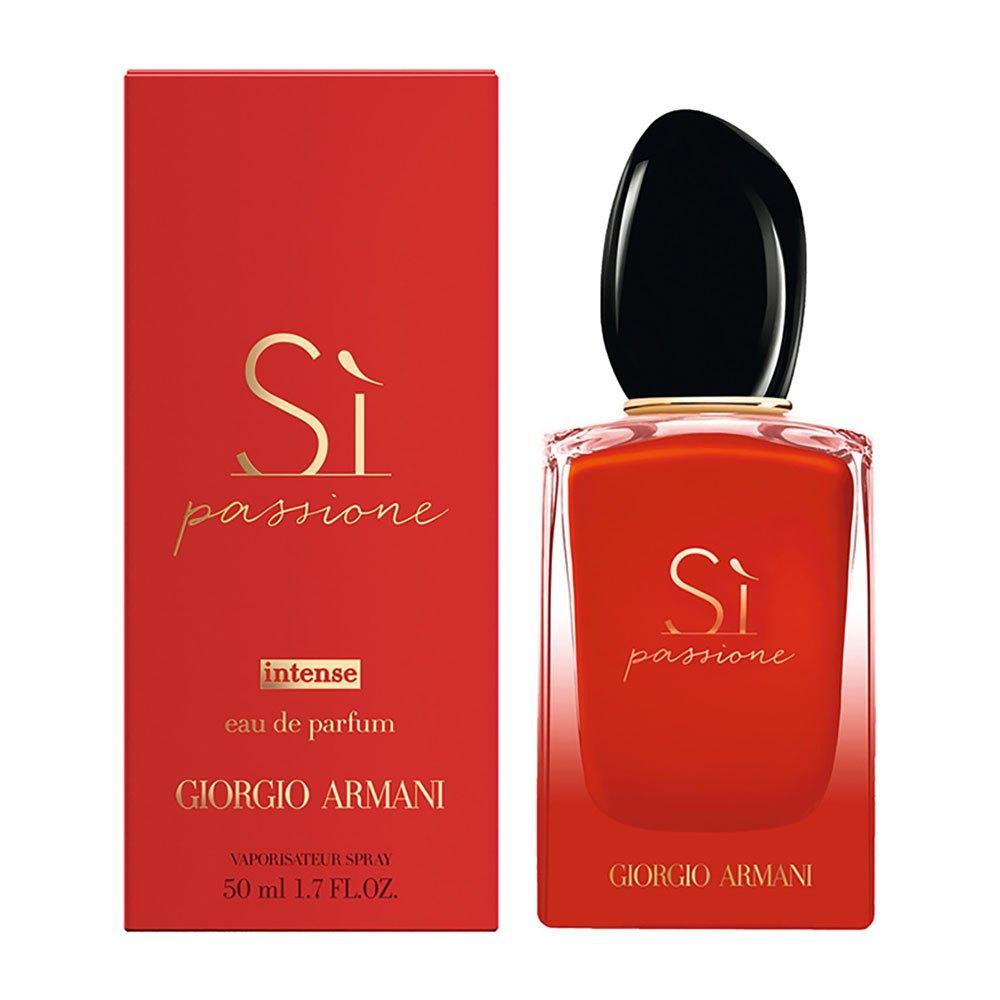 Giorgio Armani Si Passione Intense Eau De Parfum 50ml Vapo One Size Red