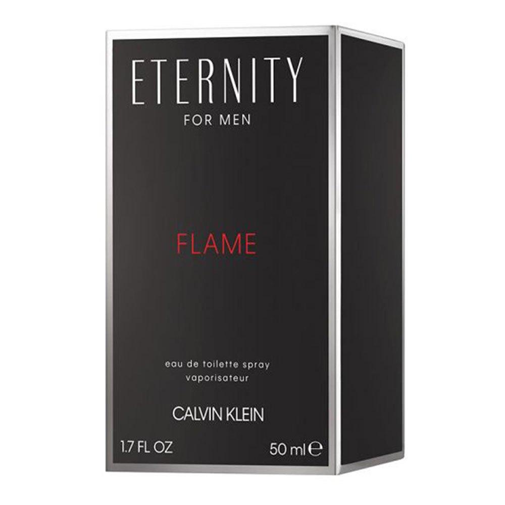 Calvin Klein Eternity Flame Eau De Toilette 50ml Vapo One Size Black