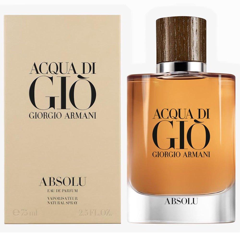 Giorgio Armani Acqua Di Gio Absolu Eau De Parfum 75ml Vapo One Size Orange