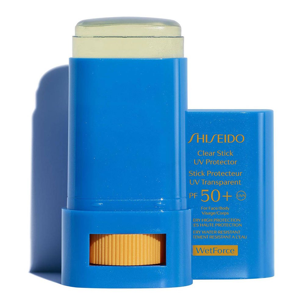 Shiseido Clear Stick Uv Protector Spf50+ 15gr One Size Blue