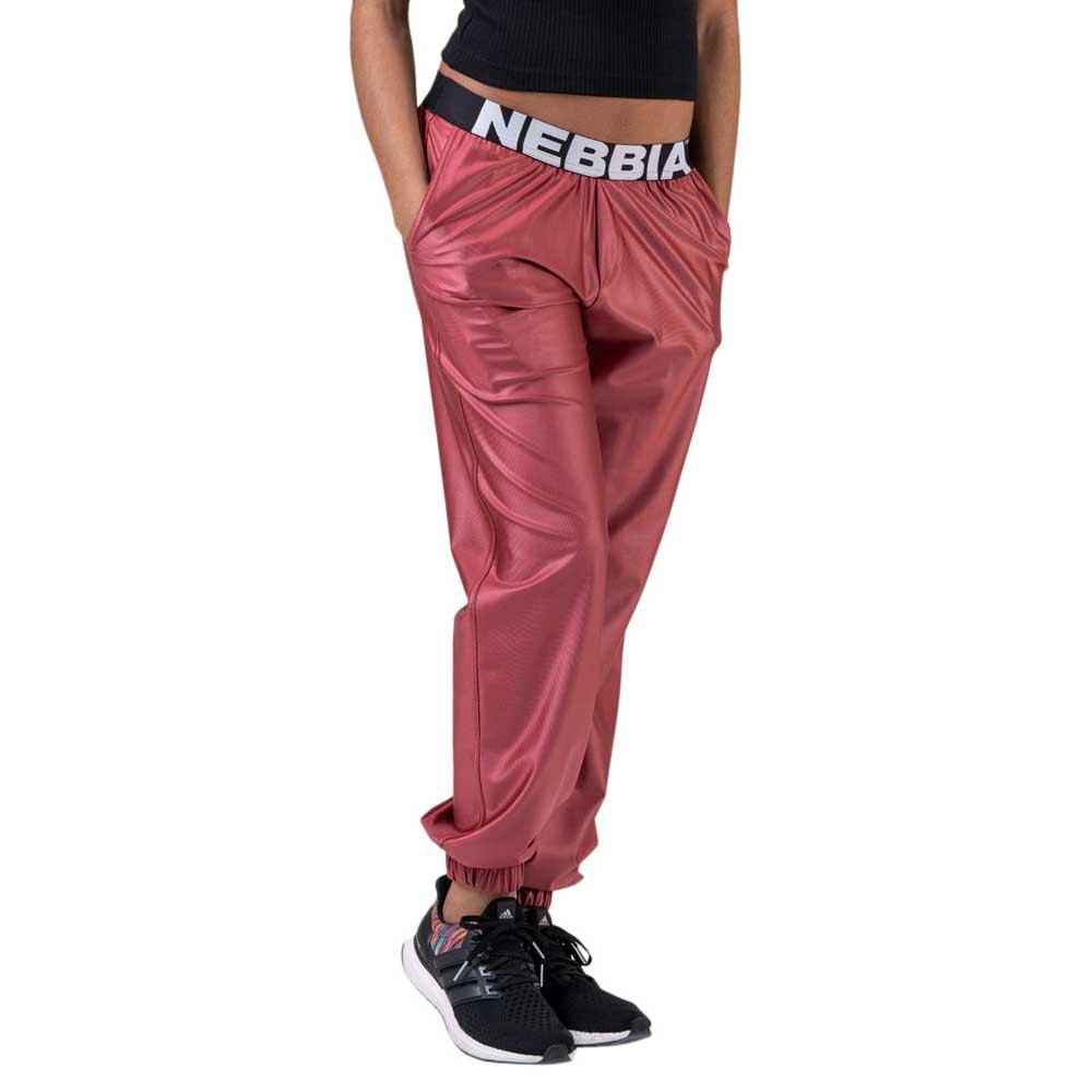 Nebbia Pantalon Longue Sports Drop Crotch S Peach