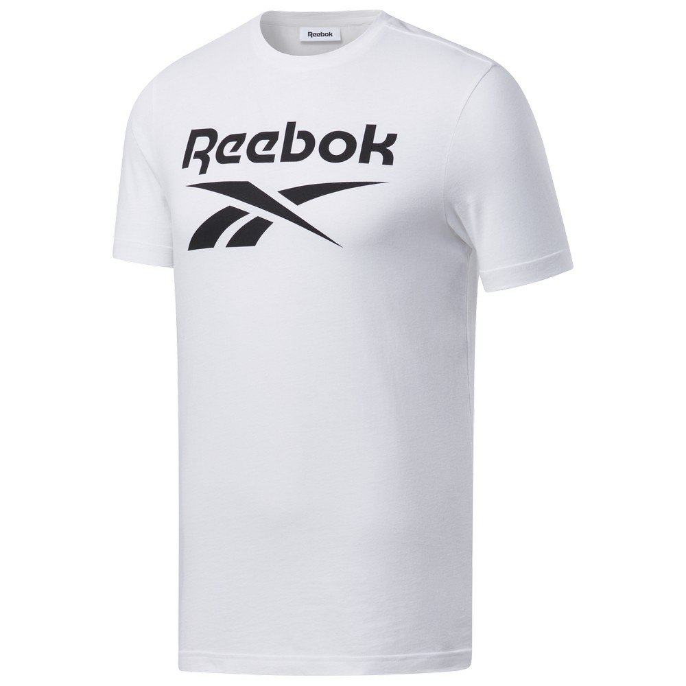 Reebok Graphic Series Stacked L White