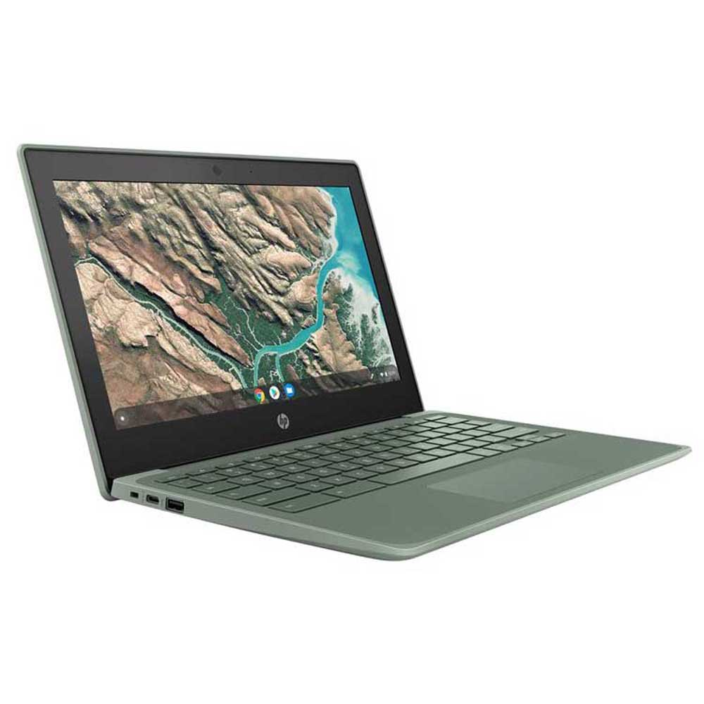 Portátil Hp Chromebook 11 G8 Touch 11.6'' N4120/4gb/32gb Ssd Emmc Education Edition Spanish QWERTY Sage Green