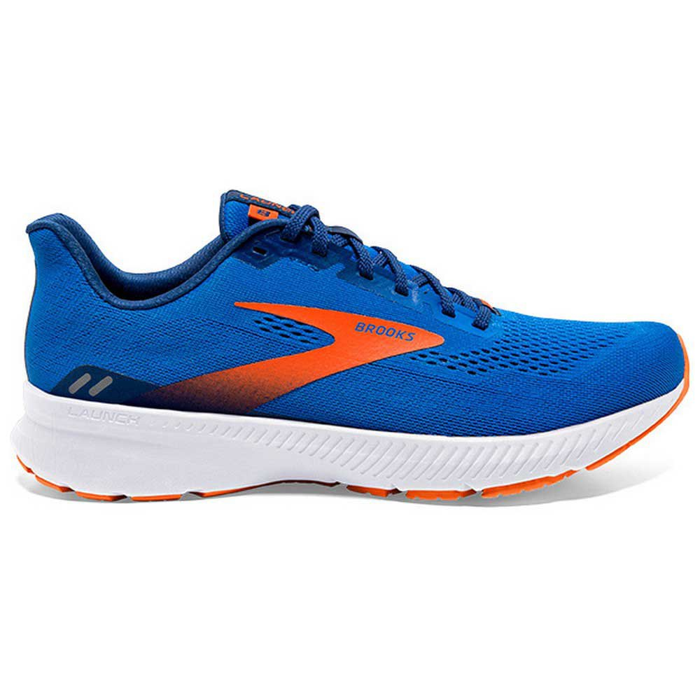 Brooks Zapatillas Running Launch 8 Blue / Orange / White