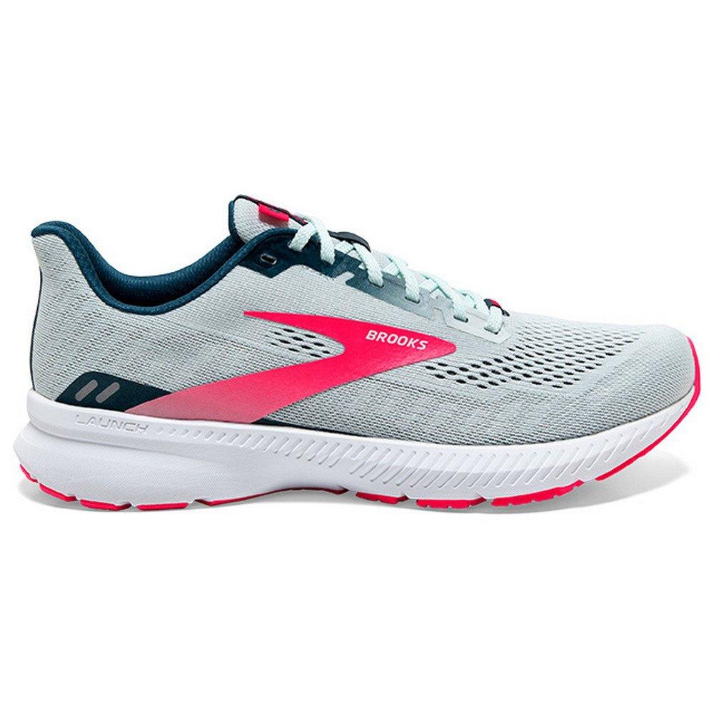 Brooks Zapatillas Running Launch 8 Ice Flow / Navy / Pink