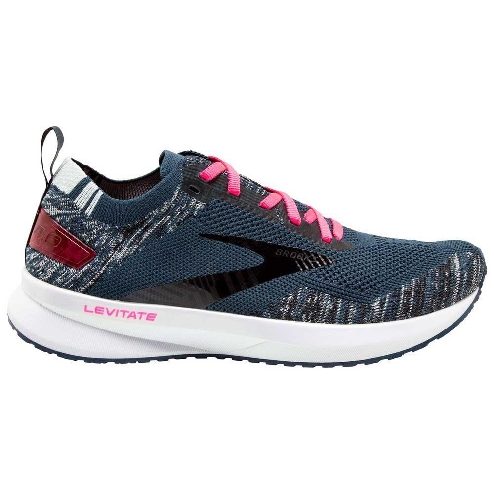 Brooks Zapatillas Running Levitate 4 Navy / Black / Pink