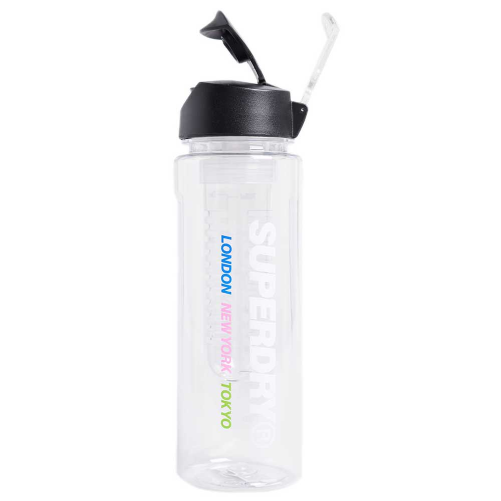 Superdry Water Bottle 700ml One Size Clear