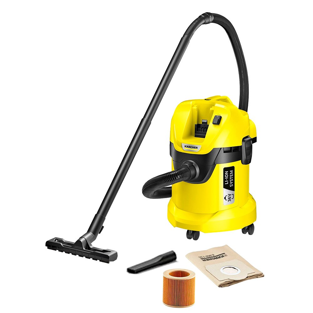 Aspiradora con bolsa Karcher Wd 3 One Size Yellow