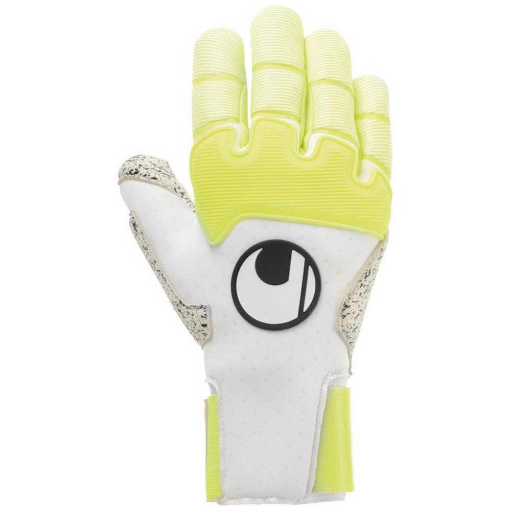 Uhlsport Gants Gardien Pure Alliance Supergrip+ Reflex 11 White / Fluo Yellow / Black
