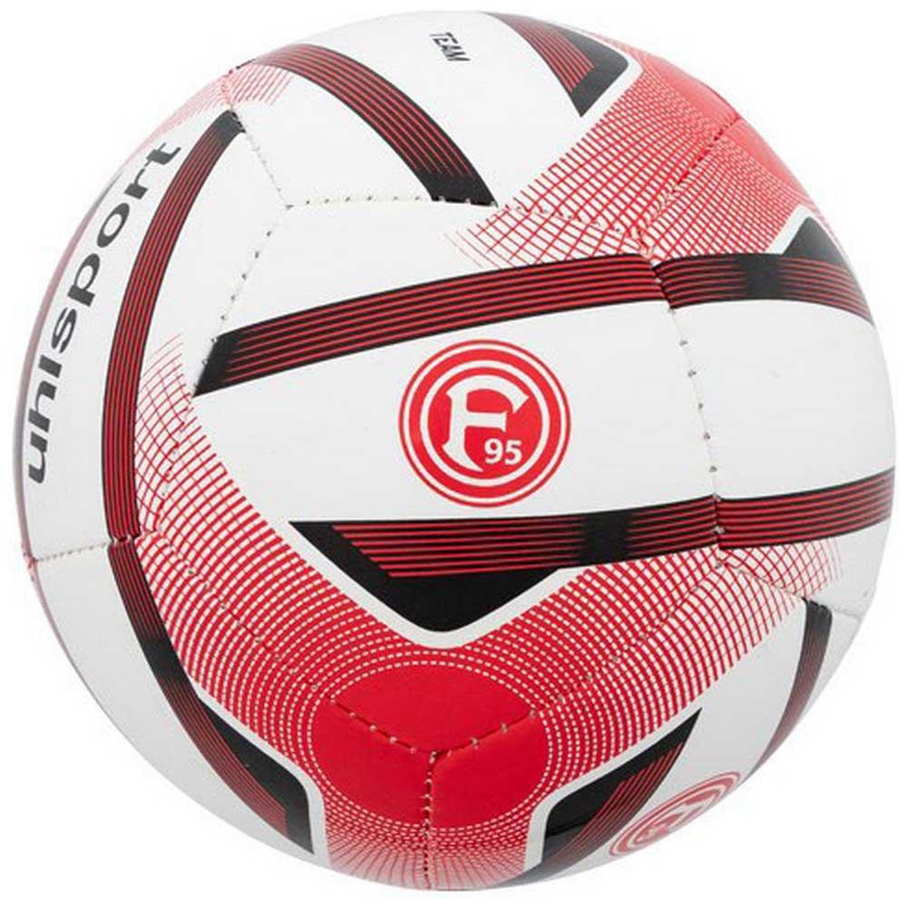 Uhlsport Ballon Football Fortuna Düsseldorf Mini One Size White / Red / Black