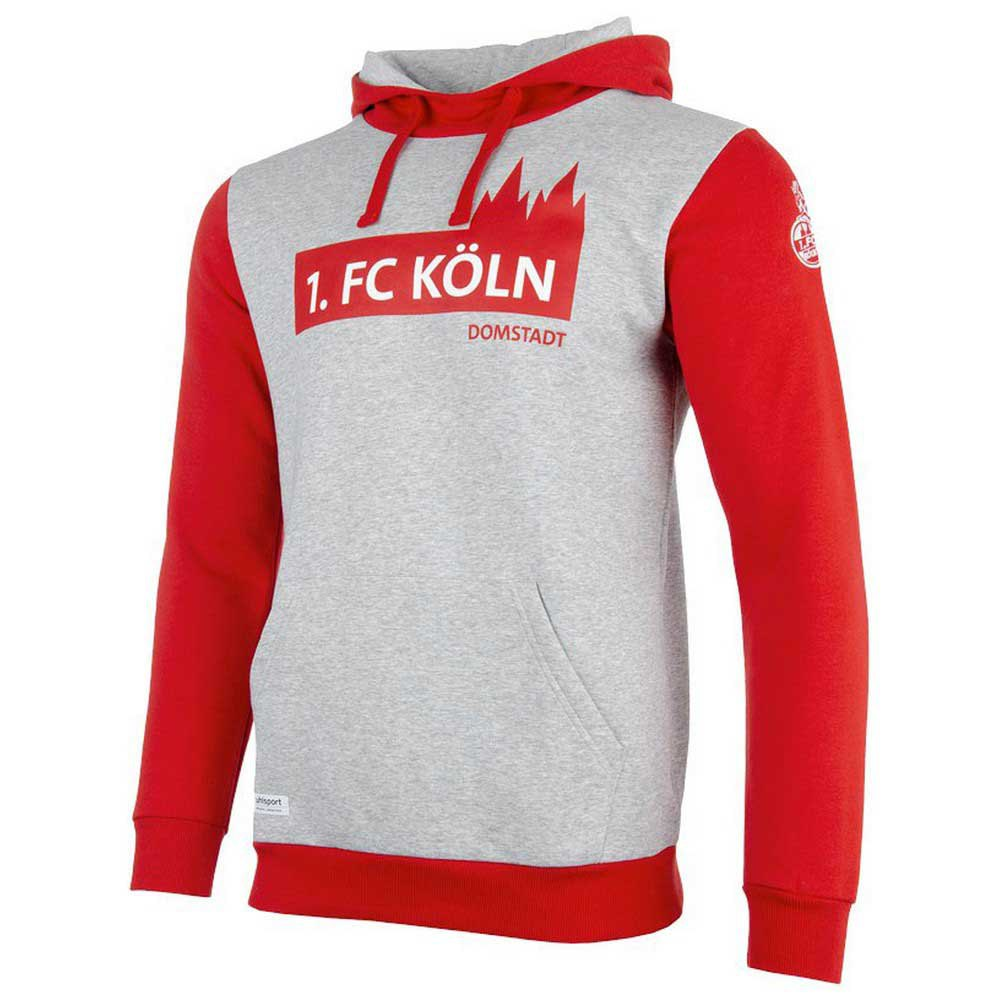 Uhlsport Sweat-shirt Fc Köln 3.0 XL Grey Melange / Red