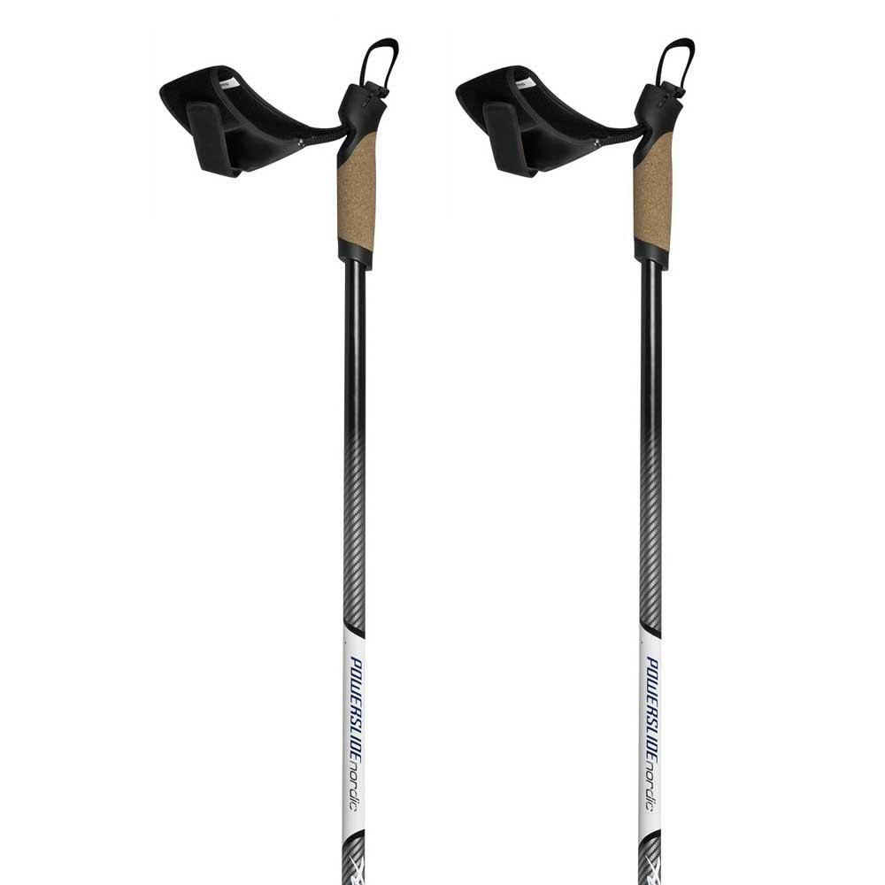Powerslide Nordic Skating Carbon 130-170 cm Black