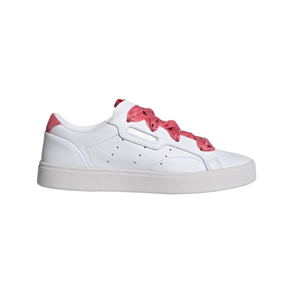 Adidas Originals Sapato Sleek EU 39 1/3 Ftwr White / Hazy Rose / Gold Met. - Sneakers Sapato Sleek