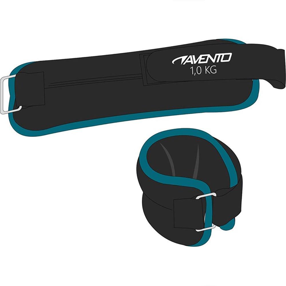 Avento Neoprene Wrist/ankle Weight 2 X 1 Kg One Size Black / Blue