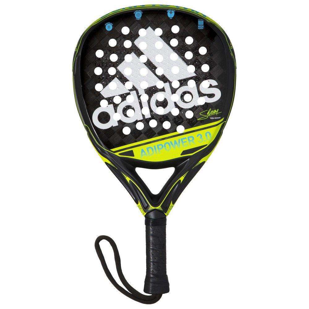 Adidas Padel Adipower 3.0 One Size Black / White / Lime