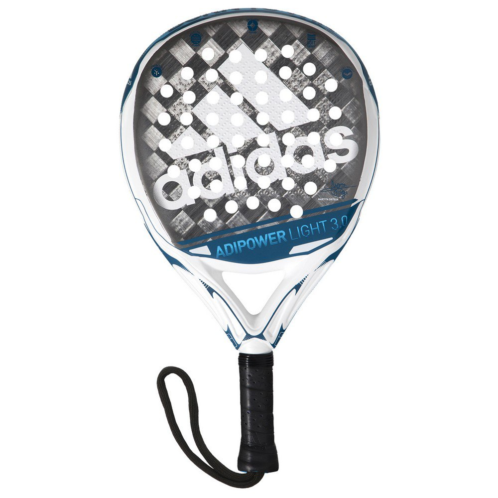 Adidas Padel Adipower Light 3.0 One Size White / Grey / Blue