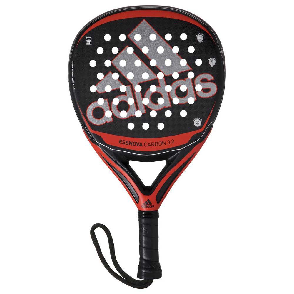 Adidas Padel Essnova Carbon 3.0 One Size Black / White / Red
