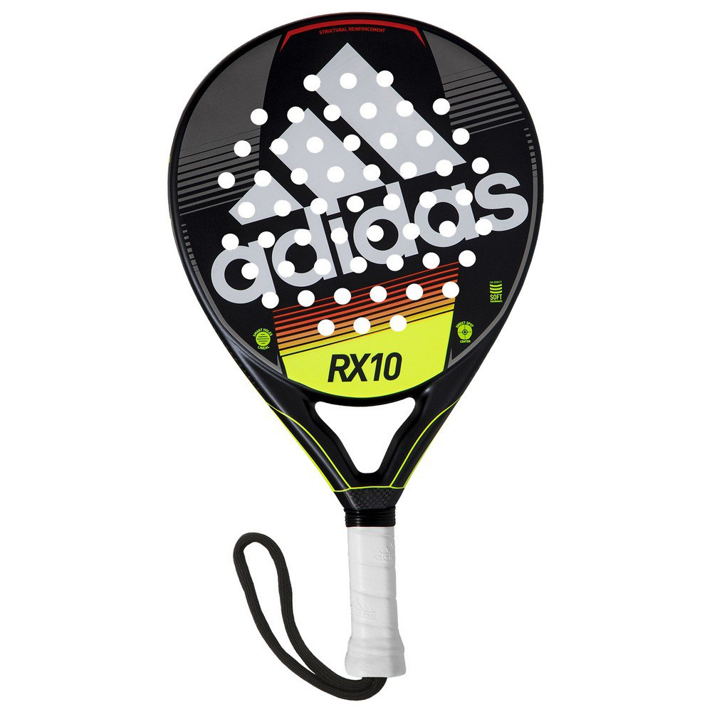 Adidas Padel Rx10 One Size Black / White / Lime / Red