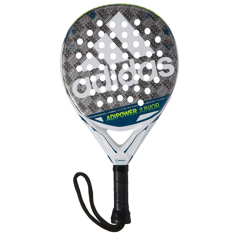 Adidas Padel Adipower Junior 3.0 One Size White / Silver / Blue