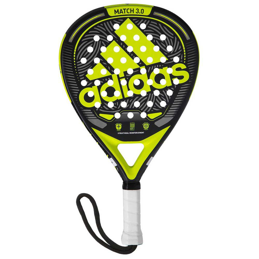 Adidas Padel Raquette Padel Match 3.0 One Size Black / Lime