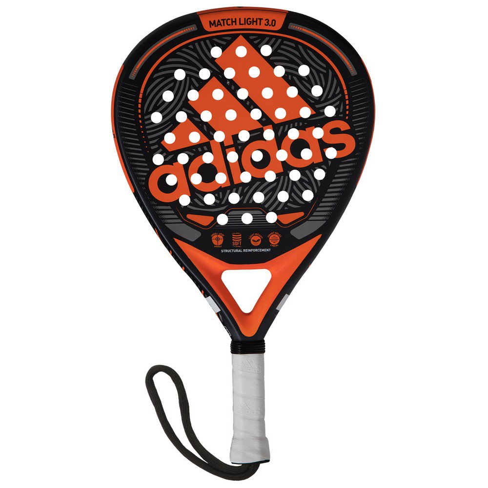 Adidas Padel Match Light 3.0 One Size Black / Orange