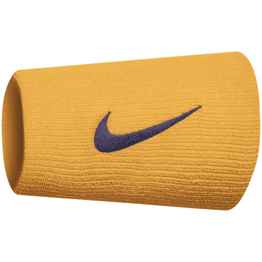 Nike Accessories Tennis Premier Doublewide One Size Gold / Black