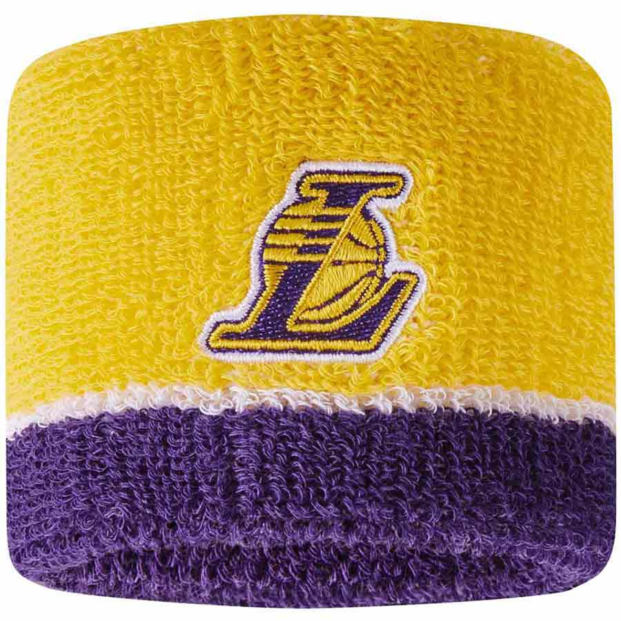 Nike Accessories Nba Los Angeles Lakers One Size Yellow / Purple