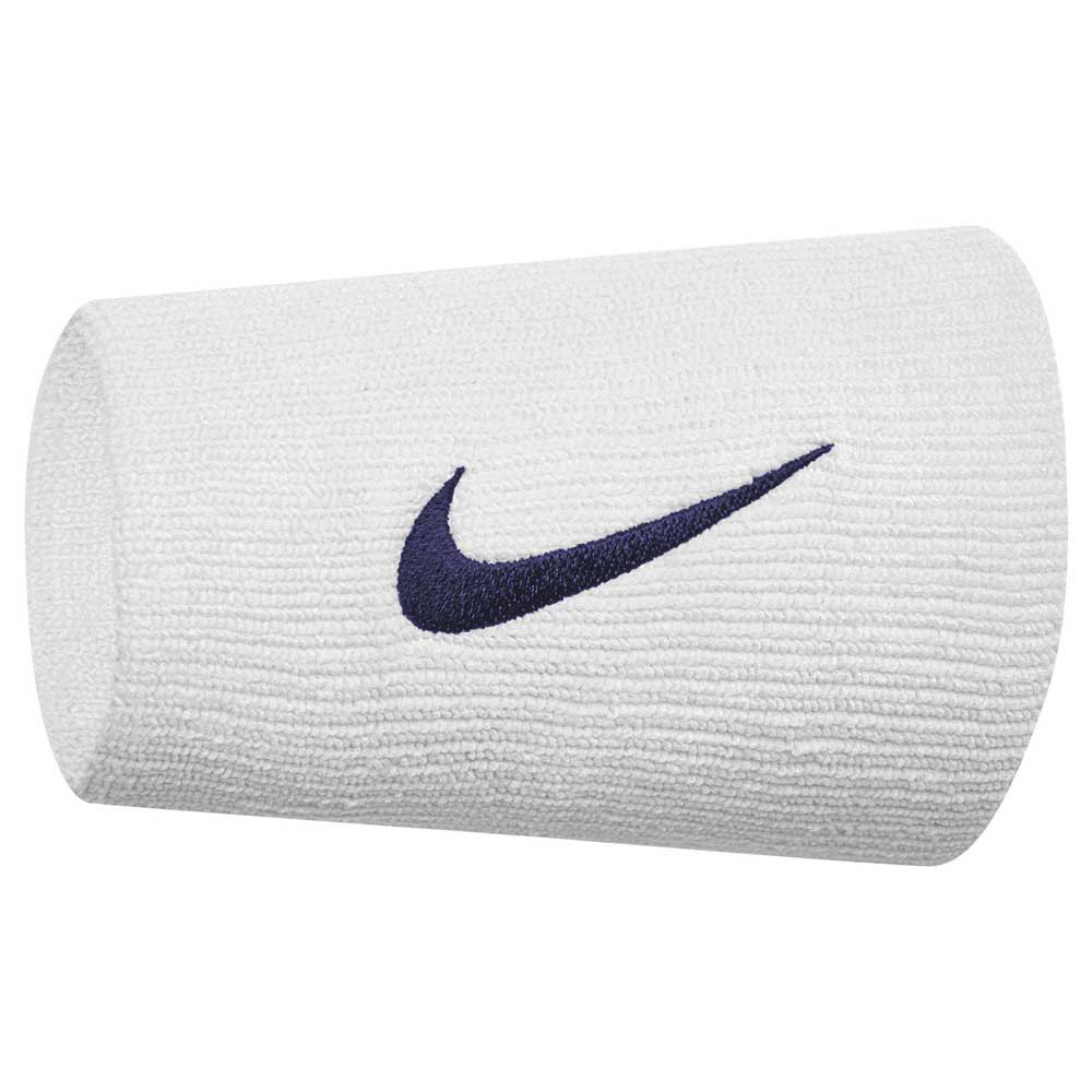 Nike Accessories Tennis Premier Double Wide One Size White / Blue