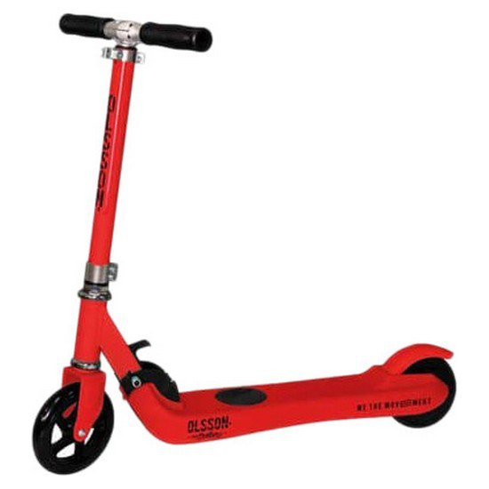 Patiente eléctrico Olsson Fun 5'' Junior One Size Red