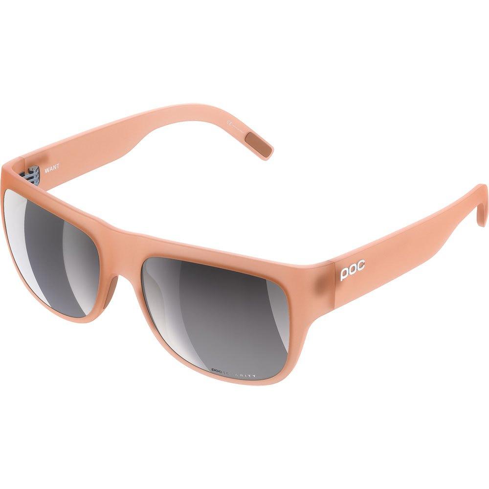Poc Gafas De Sol Want Espejo Violet Clarity Silver Mirror/CAT3 Light Citrine Orange
