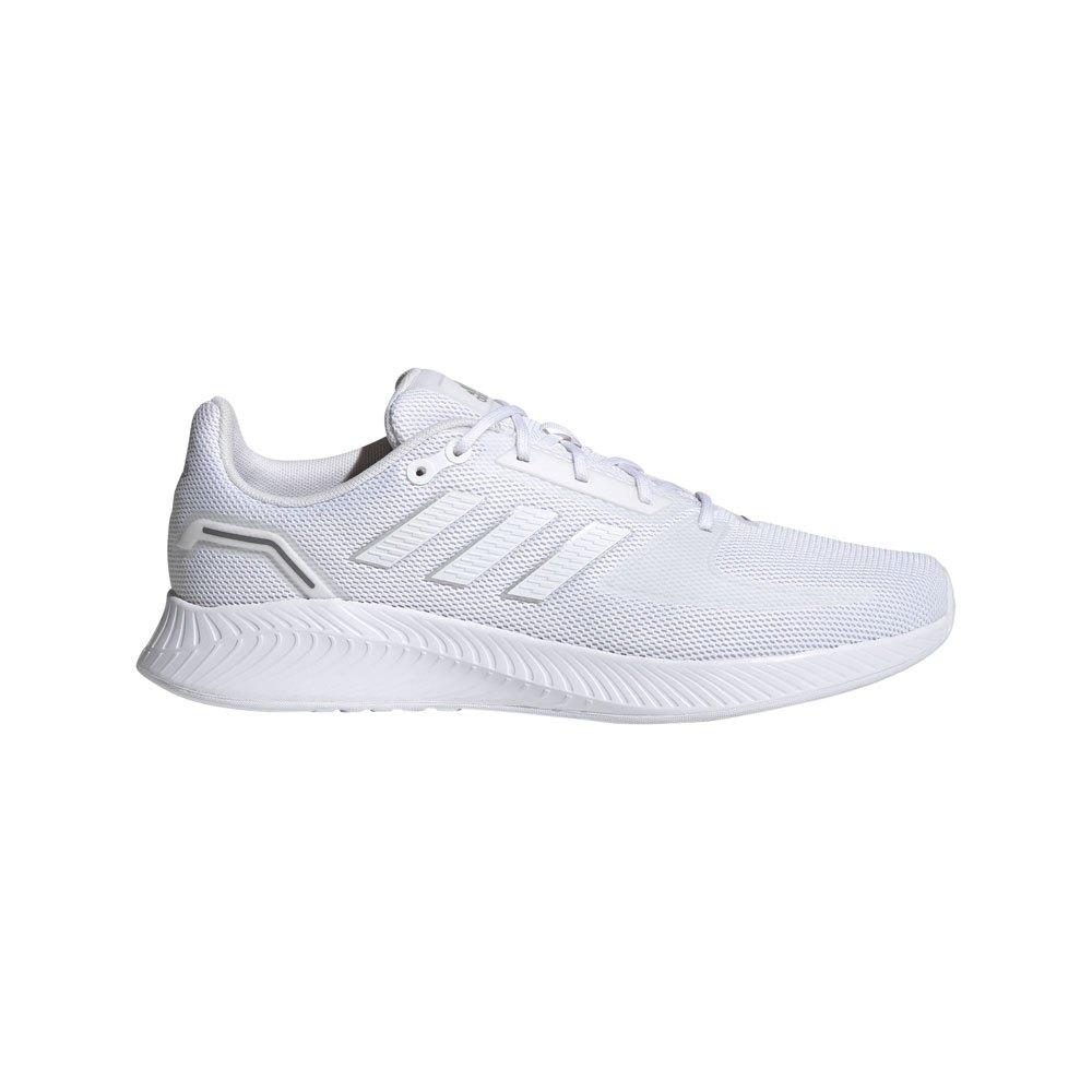 Adidas Runfalcon 2.0 EU 42 2/3 Ftwr White / Ftwr White / Silver Met.