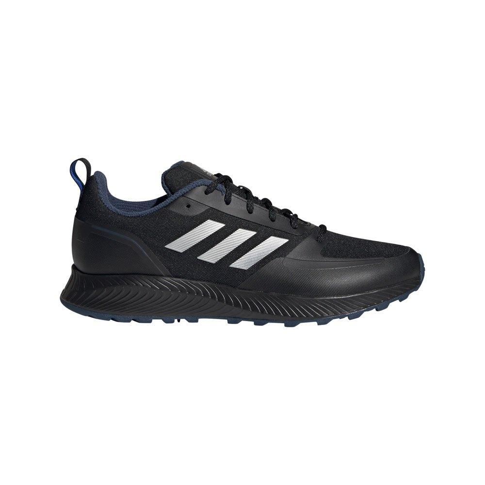 Adidas Runfalcon 2.0 Tr EU 41 1/3 Core Black / Silver Met. / Crew Navy
