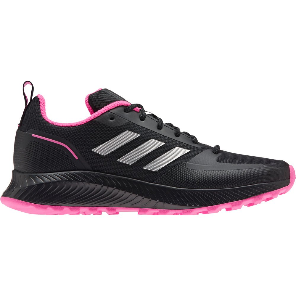 Adidas Runfalcon 2.0 Tr EU 40 2/3 Core Black / Silver Met. / Screaming Pink