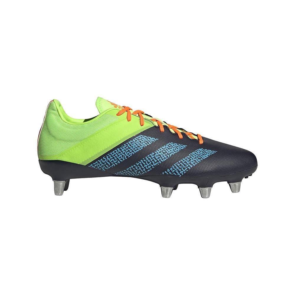 Adidas Kakari Elite Sg Rugby Boots EU 40 2/3 Legend Ink / Signal Cyan / Signal Green