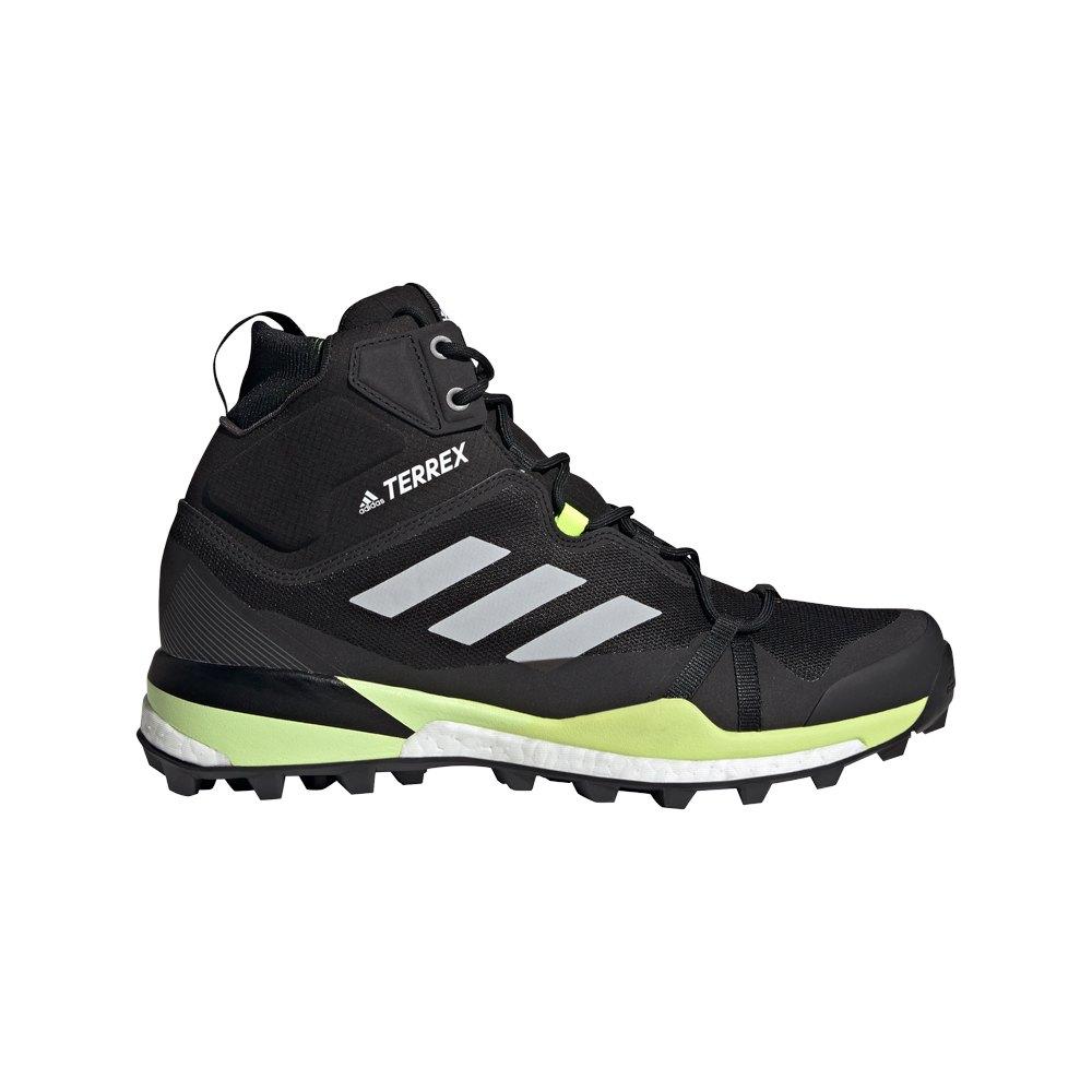Adidas Botas Senderismo Terrex Skychaser Lt Mid Goretex Core Black / Grey Two / Solar Yellow