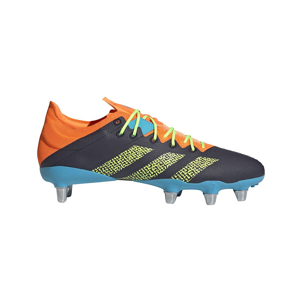 Adidas Chaussures Rugby Kakari Z.0 Sg EU 44 Legend Ink / Signal Green / Signal Cyan